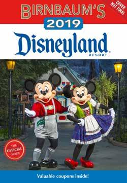 Birnbaum s 2019 Disneyland Resort The Official Guide Birnbaum s 2019 Walt Disney World for Kids Written by Birnbaum Guides Written by Birnbaum Guides Disney Editions 978-1-368-01932-3 1368019323