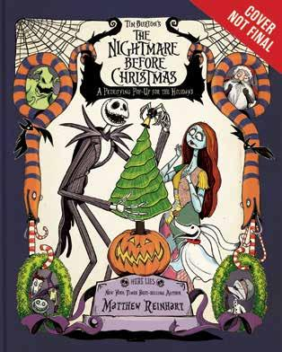 The Nightmare Before Christmas A Petrifying Pop-Up for the Holidays Limited Edition Written by Matthew Reinhart An autographed edition of The Nightmare Before Christmas Pop-Up from New York Times