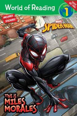 World of Reading: This is Miles Morales A 32-page level 1 early reader retelling the epic origin of the all new Spider-Man, Miles Morales. Include one sheet of stickers!