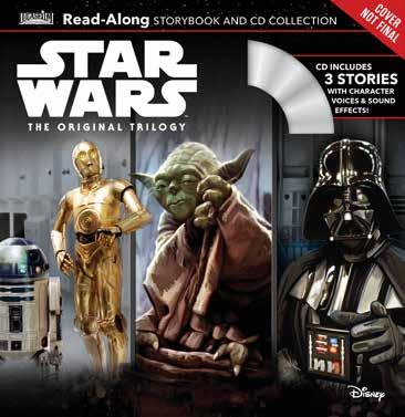 Star Wars: The Original Trilogy Read-Along Storybook and CD Collection Written by Randy Thornton Illustrated by Brian Rood Escape to a galaxy far, far away and relieve the classic adventures of your