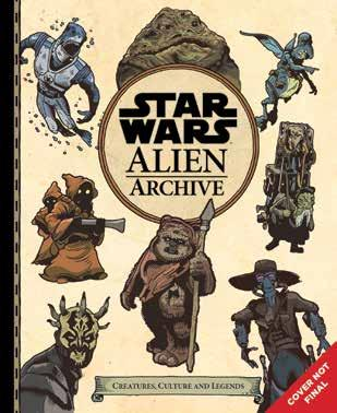 Star Wars: Alien Archive Aliens, creatures, and beasts, oh my! This in-world guide is the follow-up to Star Wars: Galactic Maps, published in 2016.