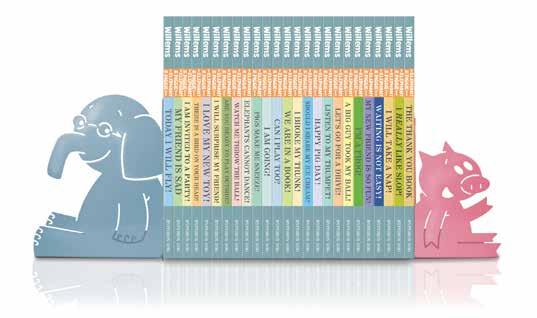 Elephant & Piggie: The Complete Collection Written and illustrated by Mo Willems The complete award-winning, number one New York Times best-selling Elephant & Piggie 25-book set plus special,