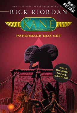 The Kane Chronicles Paperback Box Set Written by Rick Riordan Illustrated by Matt Griffin #1 NEW YORK TIMES BEST-SELLING AUTHOR MANY TIMES OVER: Many of Rick s titles have debuted at #1, and the