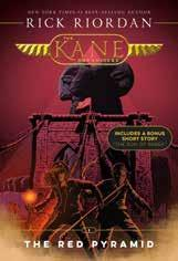Fans of his Greek & Roman and Norse mythology adventures will love his funny and exciting take on Ancient Egypt in the Kane Chronicles trilogy.