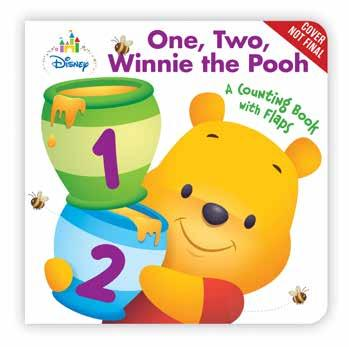 One, Two, Winnie the Pooh First Colors, Shapes, Numbers Disney Press 978-1-368-02372-6 136802372X Release Date: 10/3/2018 On Sale Date: 10/30/2018 Price US/CAN: $8.99/$9.
