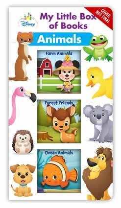 My Little Box of Books: Animals This adorable board book box set introduces little ones to all sorts of animal fun!