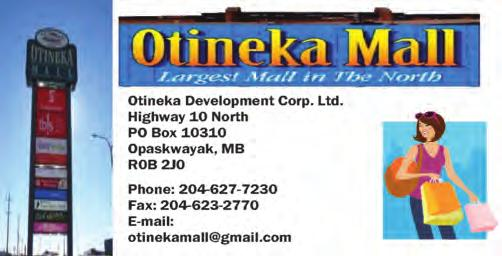 Highway 10 North PO Box 10310 Opaskwayak, MB R0B