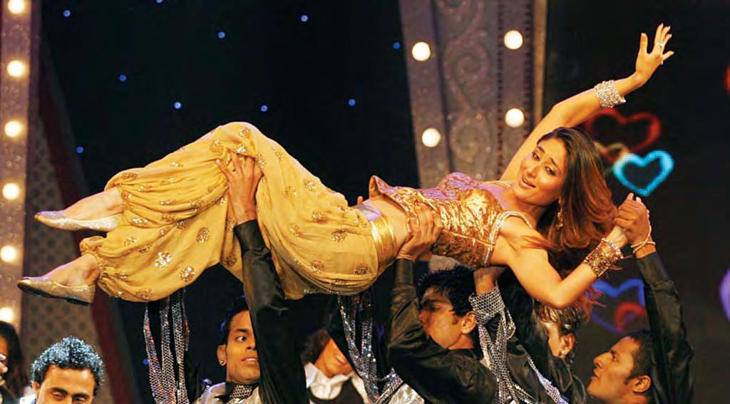 (AFP/AP) Mummy-ji This file picture taken on Aug 17, 2008 shows Indian Bollywood actress Kareena Kapoor performing at the 11th Rajiv Gandhi Awards ceremony in Mumbai.