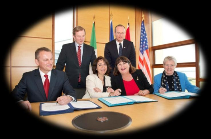 International cooperation: The Atlantic Ocean Research Alliance Launched in May 2013 (Galway Statement) under Irish Presidency with Commissioners Geoghegan-Quinn & Damanaki Goal: To better understand