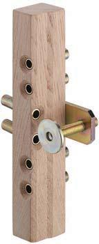 170 Suitable for left and right hand side Supplied with 2 Drilling jigs 1 Crank with crank