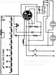 A charged capacitor will dissipate most of its charge in approximately R X C seconds through a parallel resistance.