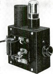Photoelectric Relay With Variety of Uses By HAROLD PALLATZ Construction AFLEXIBLE unit which can be used for many purposes, this photoelectric relay is simple to build and low in cost.