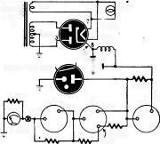 Almost any small transformer and rectifier can be used as long as it supplies about 16 volts to the filter.
