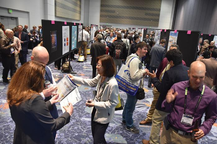 TECHNICAL EVENTS Poster Session Tuesday 17 April 2018 6:00 to 8:00 PM Location: Ballroom Level, Osceola Ballroom C All symposium attendees You are invited to attend the evening Interactive Poster