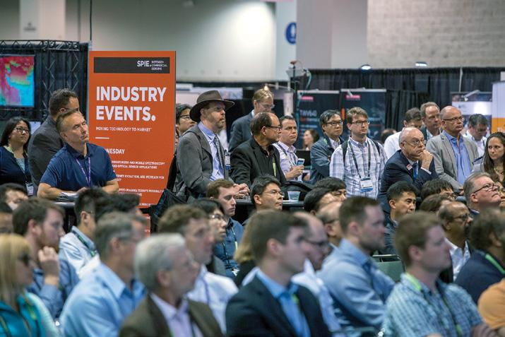 INDUSTRY EVENTS FREE Open to all conference attendees, exhibitors, and exhibition visitors.