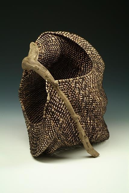 This class is a concentration on incorporating wood into rib basketry.