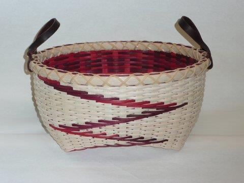 "CLASS ""15"" Church s Oval Double Wall Basket Duration: 1 Day (Wednesday) Instructor: Anne Bowers Kearneysville, WV Ability Level: Advanced Materials Fee: $95."