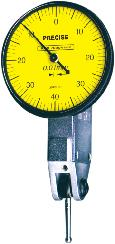 Bright clear marking With tolerance markers With lock & back lug Dial Test Indicator Robust construction Wide dial, Anti-magnetic