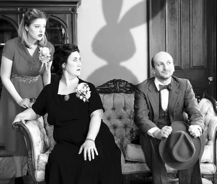 Arts and Entertainment Summer season at Rabbit Run Theater opens with the comedy Harvey MADISON Mary Chase s Pulitzer Prizewinning comedy Harvey opened at Rabbit Run Theater, Friday, June 1, and runs
