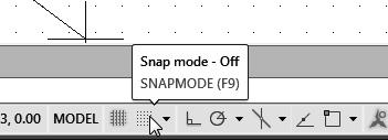 Press the [Esc] key to exit the Pan-Realtime command. Notice that AutoCAD goes back to the Line command. 7.