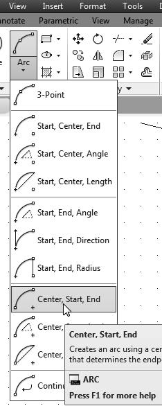 AutoCAD Fundamentals 1-33 Use the Erase Command The vertical line on the right was created as a construction line to aid the construction of the rest of the lines for the design.