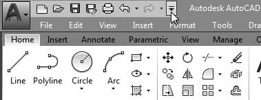 1-4 AutoCAD 2018 Tutorial: 2D Fundamentals Note that AutoCAD automatically assigns generic