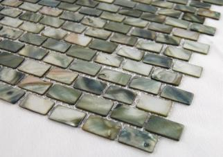 ft) 1mm thick, 16 rows per sheet Mother of Pearl