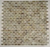 thick, 30 rows per sheet Freshwater Pearl 3D Brick ½