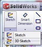 As its name complies, 3d sketch is all about creating sketches in three dimensions.
