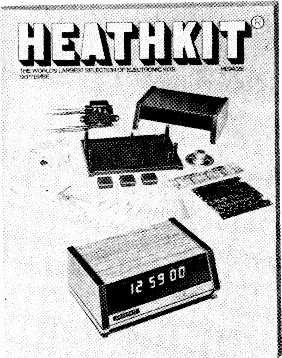 Before you build a Heathkit send away for a free bookful of encouragement. The new Heathkit catalogue. In it you'll find the whole range of Heathkit electronic kits.
