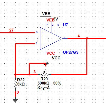 Adjustment potentiometer can adjust the overall gain of the ECG signal processing circuit.