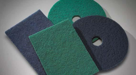 GENERAL PURPOSE PADS Scrubbing and Cleaning Pads For general scrubbing and cleaning applications, Norton offers two pads that will remove surface dirt and grime to get your floor back in shape before