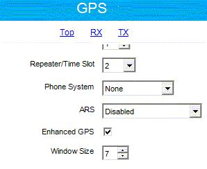 Figure 32 GPS Revert - Check the Data Call Confirmed field (to be sure that the radio will register).