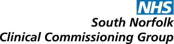 NHS SOUTH NORFOLK CLINICAL COMMISSIONING GROUP