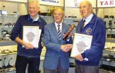 RSGB MATTERS THE RADIO SOCIETY OF GREAT BRITAIN MEMBERS MAGAZINE WWW.RSGB.ORG MAY 2010 RADCOM Club of the Year On 27 March, the Chairman, John Bowen, Vice President, Geoff Mills and several members