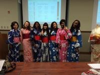 Kimono, Japanese tea ceremony, Origami and Japanese calligraphy, etc.