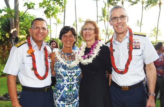 In April, heroism in the Pacific was honored with events in Hawaii and California.