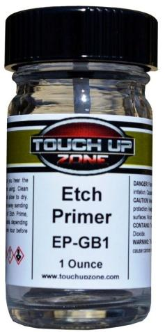 General Definitions Etch Primer: Etch Primers contain acid to help bond or etch the primer to bare metal substrates.