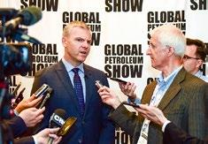 POST-SHOW REPORT GLOBAL PETROLEUM SHOW 50 YEARS IN THE MAKING - LOOKING FORWARD TO BRINGING TOGETHER THE GLOBAL ENERGY COMMUNITY FOR THE NEXT 50 YEARS The 50 th edition of the Global Petroleum Show