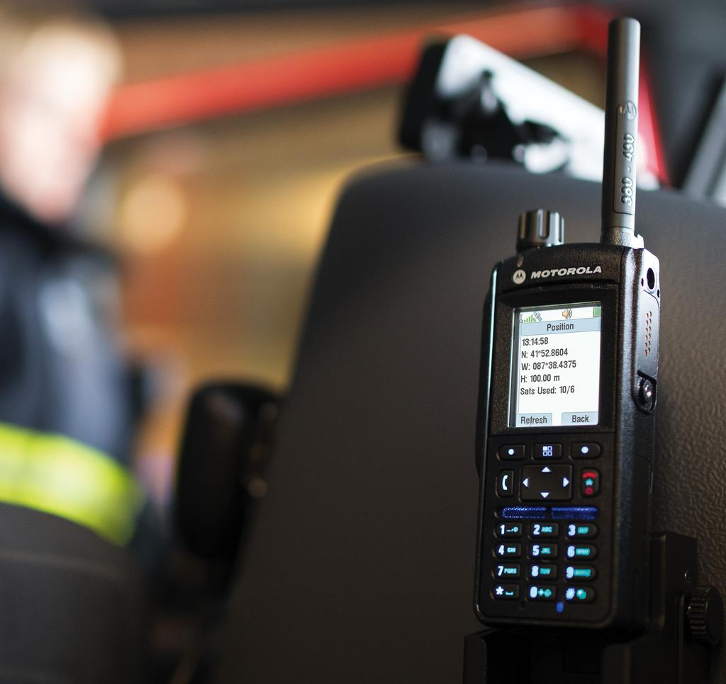 Our exclusive Operations Critical Wireless accessories handle loud environments,