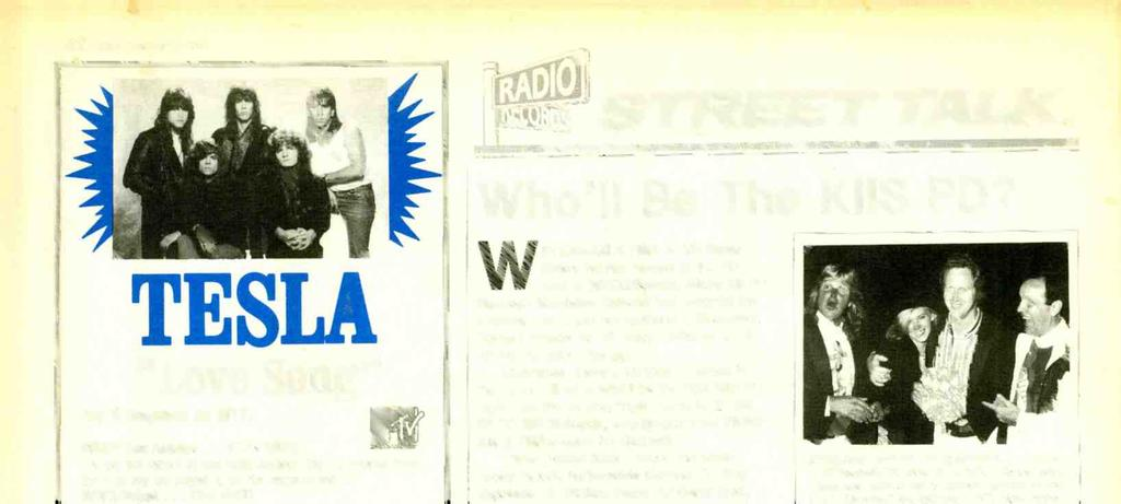 "www.mericnrdiohistory.com 32 R &R October 13,1989 STREET TALK TESLA ""Love Song"" Top 5 Requests on MN! PIRATE /Los Angeles... 17-14 (HOT) ""A red hot record t this rdio sttion!"
