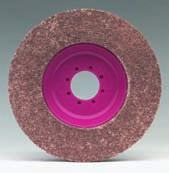 FLEECE DISCS MAGNUM TOPMIX Increased material removal, longer service life. The MAGNUM TOPMIX was developed to increase material removal during finishing while also improving service life.