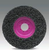 MAGNUM CLEAN For pore-deep cleaning of metals (sand-blasting effect). MAGNUM CLEAN is an elastic cleaning disc for the poredeep cleaning of metals.