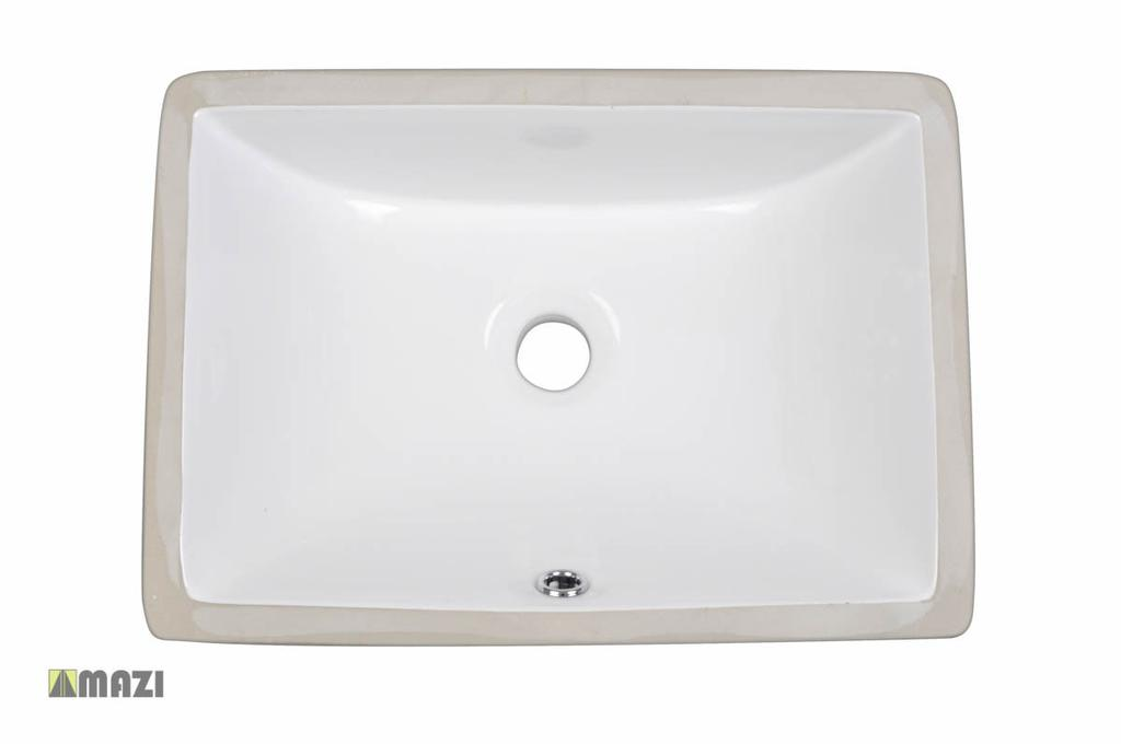Ceramic Bathroom Sink 1633 The smooth, non-porous surface of the vessel sink is naturally durable and hygienic.