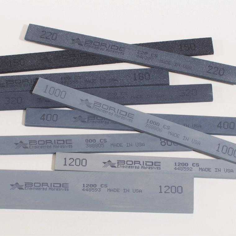 General Purpose Stones (Silicon Carbide) CS The CS is a fast cutting, black silicon carbide stone.