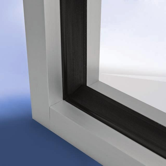 Available in black and with different sizes for commercial applications or white for residential applications, it adds real
