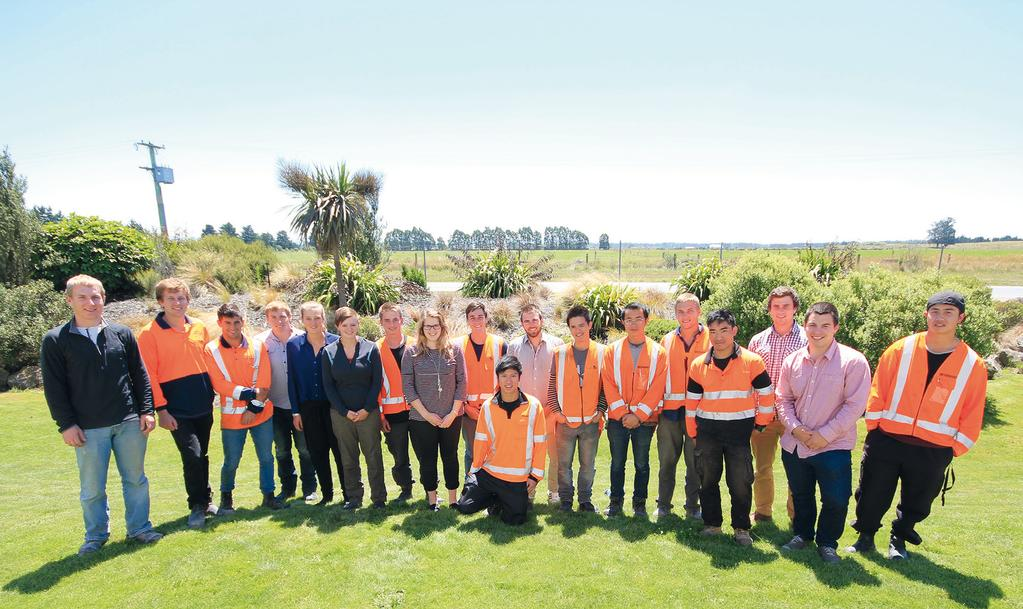 DOWNER YOUR FUTURE Christchurch Summer 2013/14 Interns We offer a comprehensive graduate programme, hands-on summer work experience and a selection of scholarships that will help you acquire the