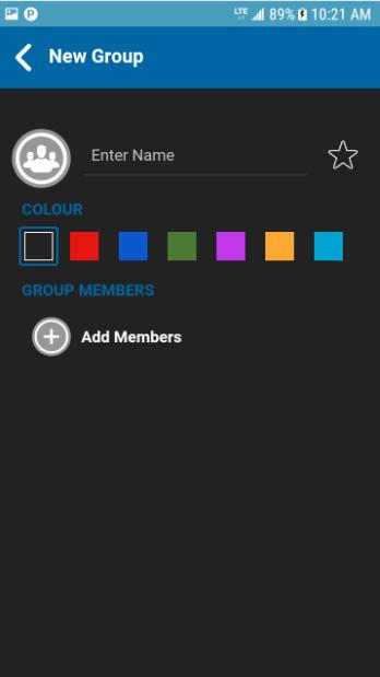 Add a Group You can create your own personal groups unless restricted by an