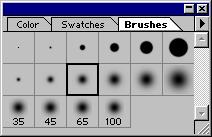 Brush settings are retained for each of the painting tools (airbrush, paintbrush, eraser, pencil) and editing tools (history brush, rubber stamp, smudge, focus, toning).