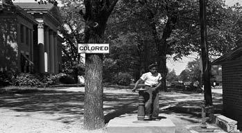 Separate, but Equal? Throughout the South from 1876 to 1965, laws, known as Jim Crow laws, created legalized segregation.